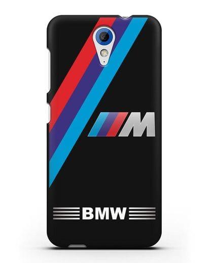 Чехол с логотипом BMW M Series силикон черный для HTC Desire 620