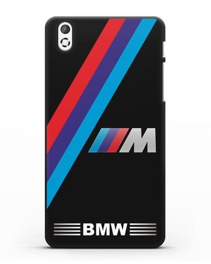 Чехол с логотипом BMW M Series силикон черный для HTC Desire 816