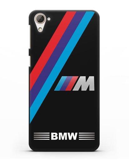 Чехол с логотипом BMW M Series силикон черный для HTC Desire 826