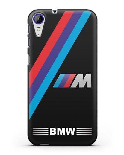 Чехол с логотипом BMW M Series силикон черный для HTC Desire 830