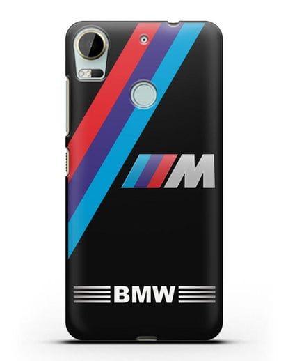 Чехол с логотипом BMW M Series силикон черный для HTC Desire 10 Pro