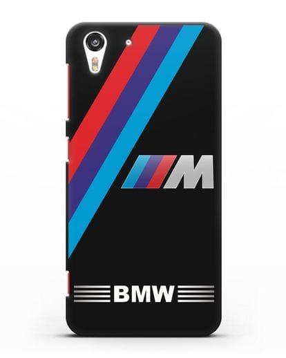 Чехол с логотипом BMW M Series силикон черный для HTC Desire Eye