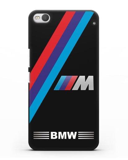 Чехол с логотипом BMW M Series силикон черный для HTC One X9