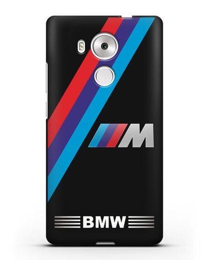 Чехол с логотипом BMW M Series силикон черный для Huawei Mate 8