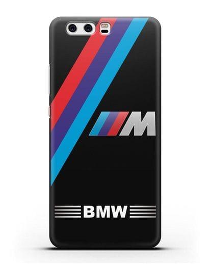 Чехол с логотипом BMW M Series силикон черный для Huawei P10 Plus