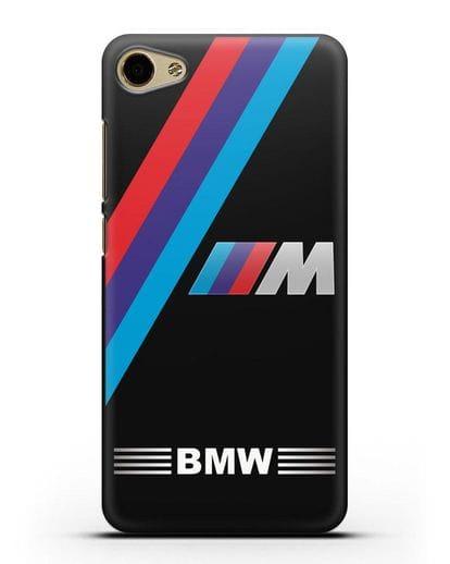 Чехол с логотипом BMW M Series силикон черный для MEIZU U10