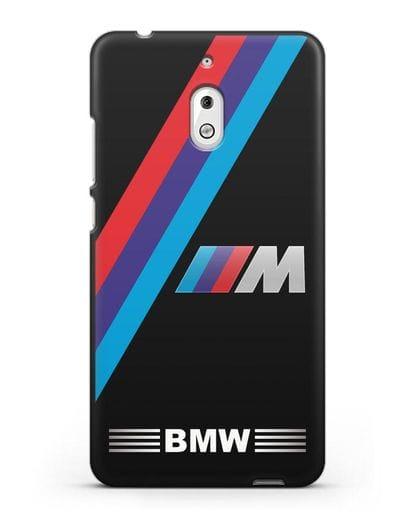 Чехол с логотипом BMW M Series силикон черный для Nokia 2.1
