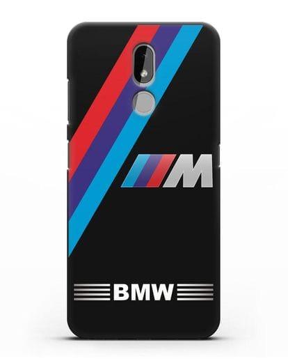 Чехол с логотипом BMW M Series силикон черный для Nokia 3.2 2019