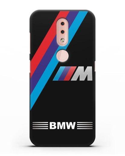 Чехол с логотипом BMW M Series силикон черный для Nokia 4.2 2019