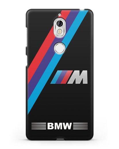 Чехол с логотипом BMW M Series силикон черный для Nokia 7