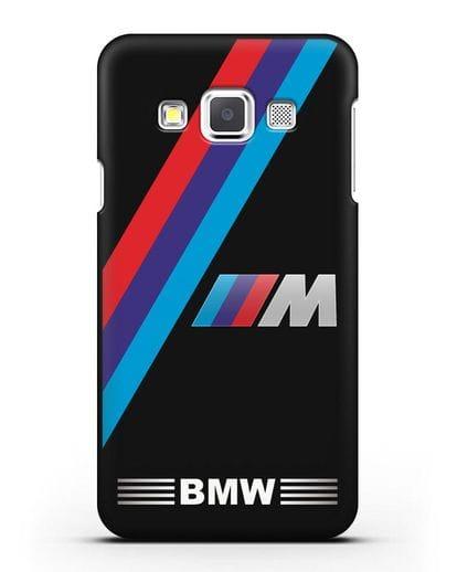 Чехол с логотипом BMW M Series силикон черный для Samsung Galaxy A3 2015 [SM-A300F]
