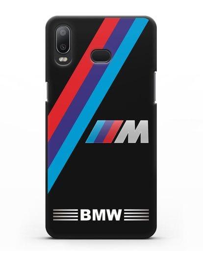 Чехол с логотипом BMW M Series силикон черный для Samsung Galaxy A6s [SM-G6200]