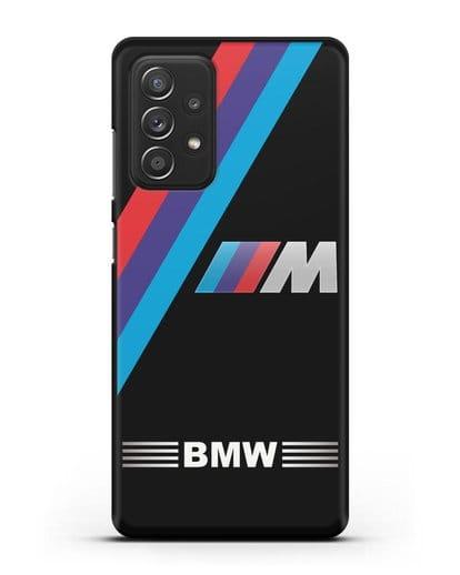Чехол с логотипом BMW M Series силикон черный для Samsung Galaxy A52 [SM-A525F]