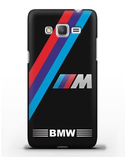 Чехол с логотипом BMW M Series силикон черный для Samsung Galaxy J2 Prime [SM-G532]