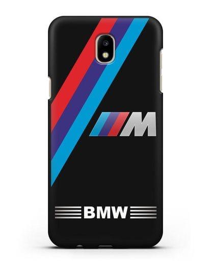 Чехол с логотипом BMW M Series силикон черный для Samsung Galaxy J5 2017 [SM-J530F]