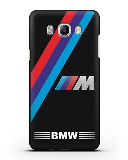 Чехол с логотипом BMW M Series силикон черный для Samsung Galaxy J7 2016 [SM-J710F]