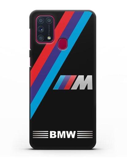 Чехол с логотипом BMW M Series силикон черный для Samsung Galaxy M31 [SM-M315F]