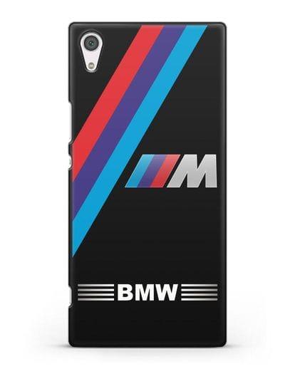 Чехол с логотипом BMW M Series силикон черный для Sony Xperia XA1 Ultra