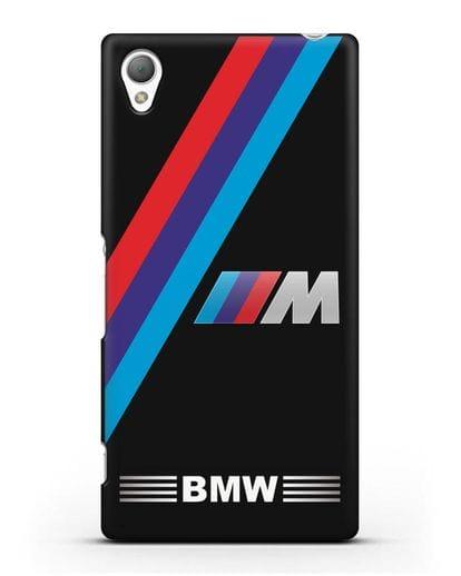 Чехол с логотипом BMW M Series силикон черный для Sony Xperia Z5