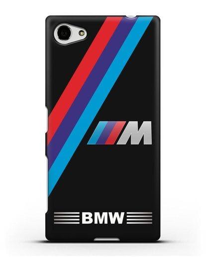 Чехол с логотипом BMW M Series силикон черный для Sony Xperia Z5 Compact