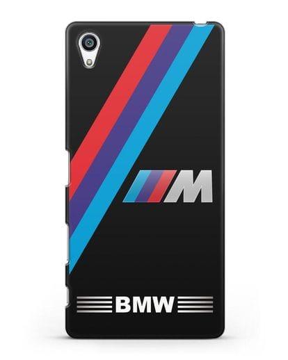 Чехол с логотипом BMW M Series силикон черный для Sony Xperia Z5 Premium