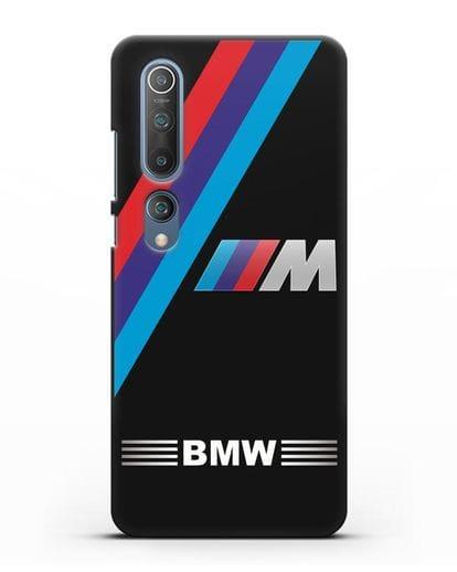 Чехол с логотипом BMW M Series силикон черный для Xiaomi Mi 10 Pro