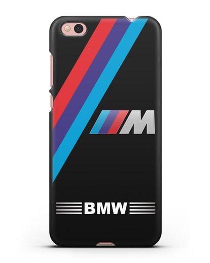Чехол с логотипом BMW M Series силикон черный для Xiaomi Mi 5С