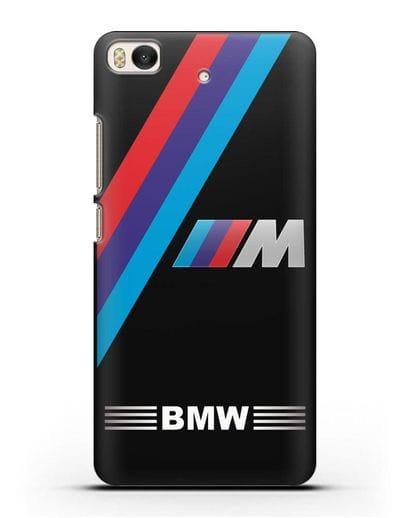 Чехол с логотипом BMW M Series силикон черный для Xiaomi Mi 5S