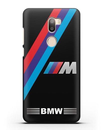 Чехол с логотипом BMW M Series силикон черный для Xiaomi Mi 5S Plus