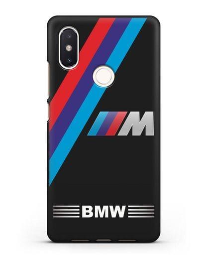 Чехол с логотипом BMW M Series силикон черный для Xiaomi Mi 8 SE