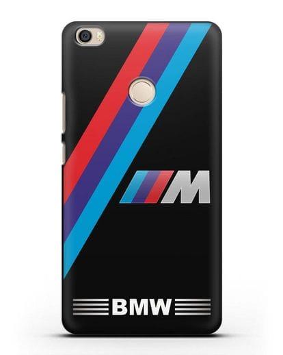 Чехол с логотипом BMW M Series силикон черный для Xiaomi Mi Max