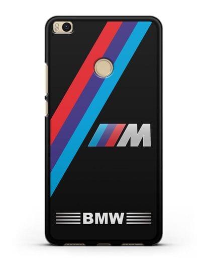 Чехол с логотипом BMW M Series силикон черный для Xiaomi Mi Max 2