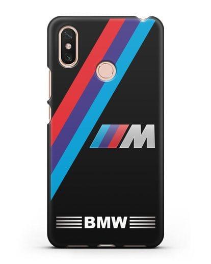 Чехол с логотипом BMW M Series силикон черный для Xiaomi Mi Max 3