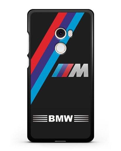 Чехол с логотипом BMW M Series силикон черный для Xiaomi Mi Mix 2