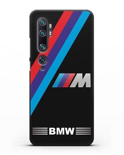Чехол с логотипом BMW M Series силикон черный для Xiaomi Mi Note 10 Pro