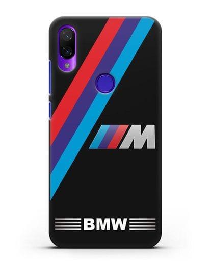 Чехол с логотипом BMW M Series силикон черный для Xiaomi Mi Play