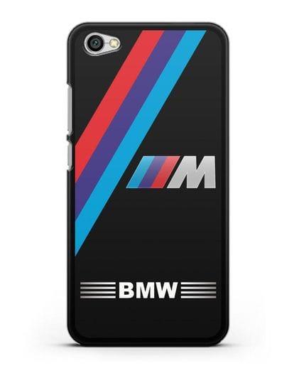 Чехол с логотипом BMW M Series силикон черный для Xiaomi Redmi Note 5A