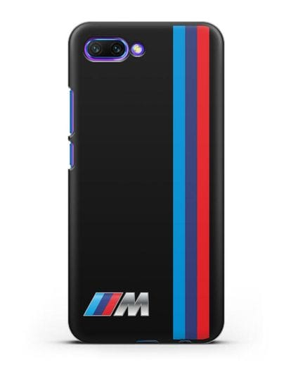 Чехол BMW M Perfomance силикон черный для Honor 10