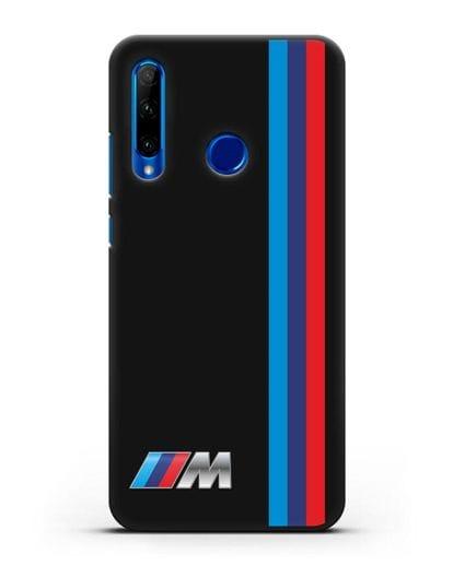 Чехол BMW M Perfomance силикон черный для Honor 10i