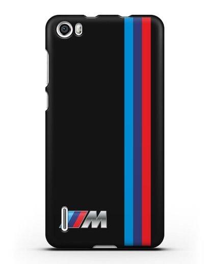 Чехол BMW M Perfomance силикон черный для Honor 6
