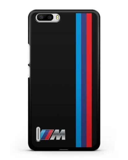 Чехол BMW M Perfomance силикон черный для Honor 6 Plus