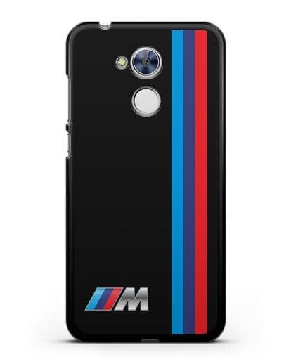 Чехол BMW M Perfomance силикон черный для Honor 6A