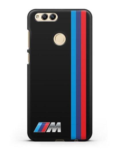 Чехол BMW M Perfomance силикон черный для Honor 7X