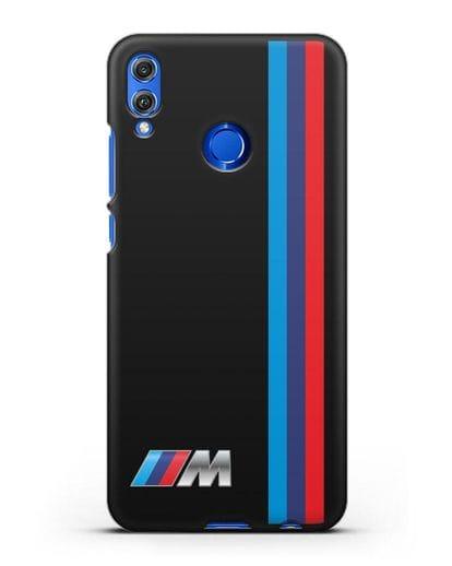 Чехол BMW M Perfomance силикон черный для Honor 8X