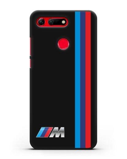 Чехол BMW M Perfomance силикон черный для Honor View 20