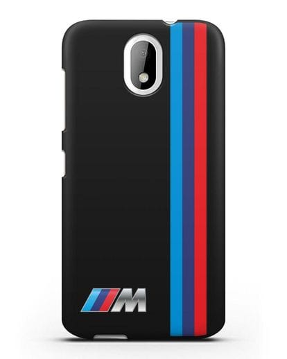 Чехол BMW M Perfomance силикон черный для HTC Desire 326