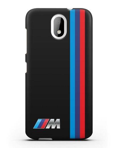 Чехол BMW M Perfomance силикон черный для HTC Desire 526