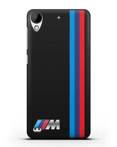 Чехол BMW M Perfomance силикон черный для HTC Desire 630