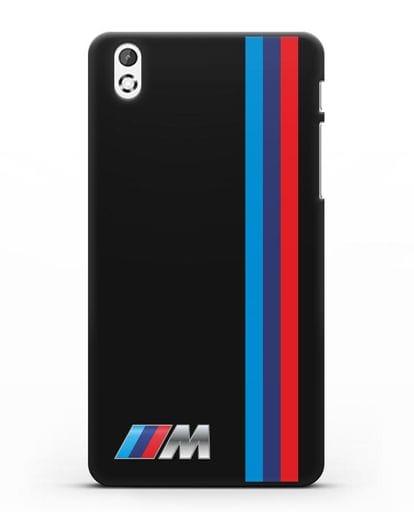 Чехол BMW M Perfomance силикон черный для HTC Desire 816