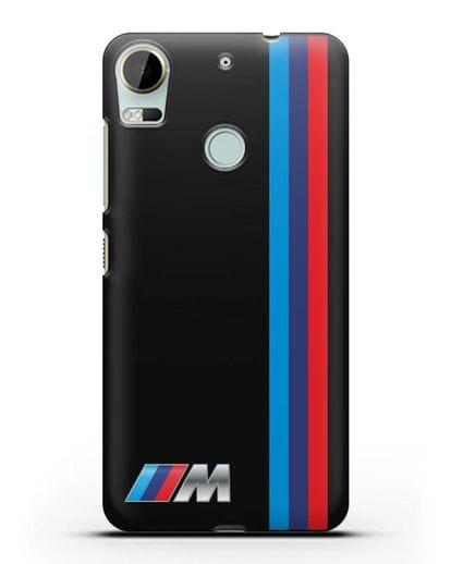 Чехол BMW M Perfomance силикон черный для HTC Desire 10 Pro